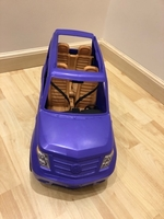 Used Barbie purple car   in Dubai, UAE