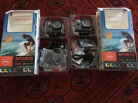 Used 2 SPORTS CAM 1080p WATERPROOF  in Dubai, UAE