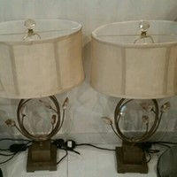 Used Lamps.  Price is For One Pair.  in Dubai, UAE