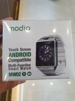 Used Smart watch new. Black. in Dubai, UAE