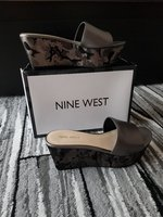 Used Nine West wedge size US7 in Dubai, UAE