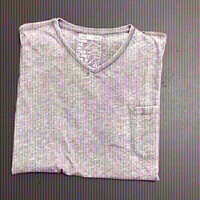 Used T-shirt (One90One)-Gray-size XL in Dubai, UAE