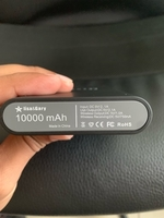 Used Wireless charging power bank 10k black  in Dubai, UAE