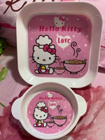 Used Hello Kitty Bundle plate and bowl in Dubai, UAE