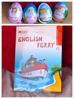 Used New English vocabulary book &choco eggs in Dubai, UAE