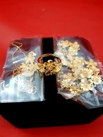 Gold Jewelry Fashion Set