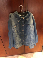 Used Jeans jacket large  in Dubai, UAE