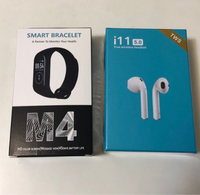 Used SALE!!! I11 AIRPODS+ SMART BAND M4  in Dubai, UAE