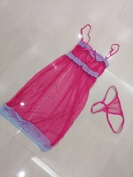 Used Pink nightgown size S new in Dubai, UAE