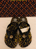 Used Tory Burch flip flops - US size 8 in Dubai, UAE