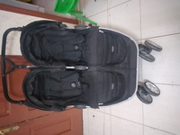 Used Britax B-agil double stroller in Dubai, UAE