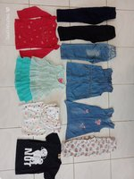 Used Combo of baby clothes, shoes and toys🎀 in Dubai, UAE