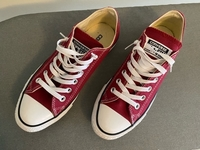 Used Red Converse size 39 in Dubai, UAE