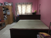 Used King Size bed with Medicated matters in Dubai, UAE