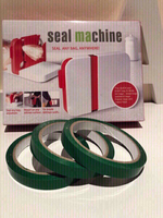 Used 2 bag Seal machines plus 5 tapes in Dubai, UAE