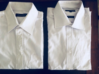 Used (2) New white shirts MTM England in Dubai, UAE