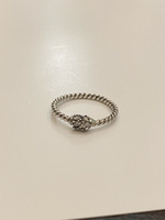 Used 925 Sterling silver ring size 7 in Dubai, UAE