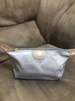 Long champ small pouch 👝 Gray