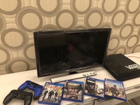 Used PS4 With 2 Controllers +TV & Games in Dubai, UAE