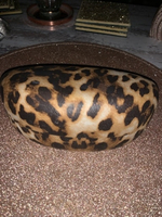 Used Leopard Print sunglasses / glasses case in Dubai, UAE