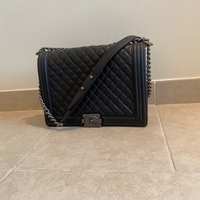 Used Chanel big boy bag in Dubai, UAE