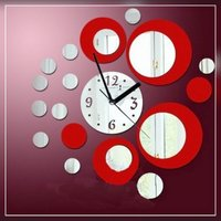 Used Do your own design mirror clock in Dubai, UAE