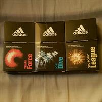 Used Adidas Perfumes 100 ml Each  in Dubai, UAE