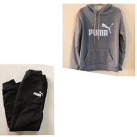 Used Puma sports suit size (L)copy  in Dubai, UAE