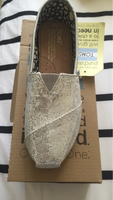 Used Toms silver color size 5 in Dubai, UAE