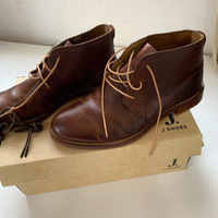 Used Leather handcrafted shoes (42) New in Dubai, UAE