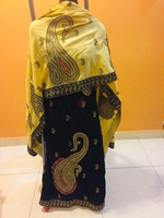Black & cream new Salwar suit