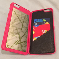 Used iphone wallet case with mirror in Dubai, UAE