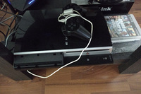 Used Ps3 playstation 3 + 1 controller 2 Games in Dubai, UAE
