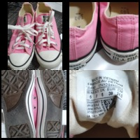 Used Authentic Converse pink size 39 in Dubai, UAE