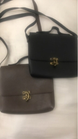 Used 2sling bag bundle offer black and brown in Dubai, UAE