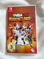 Used NBA2K Playgrounds 2 switch game in Dubai, UAE