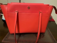 Used Tory Burch light pink tote handbag in Dubai, UAE