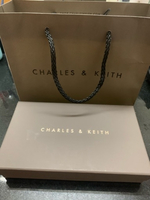 Used Charles & Keith Tassel long wallet new  in Dubai, UAE