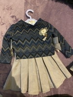 Used Baby girl frock 3 piece in Dubai, UAE