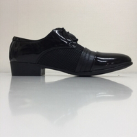 Used Black shoes for man size 46 @offer in Dubai, UAE
