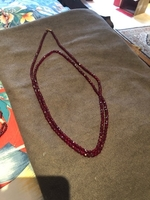 Used Crystal beads necklace.  in Dubai, UAE