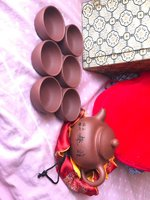 Used New Chinese cermaic clay teapot set 8pc in Dubai, UAE