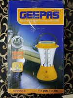 Used 3 x Geepas rechargeable solar lantern in Dubai, UAE