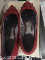 Used Red Velvet Ann Klien size39. 5 in Dubai, UAE