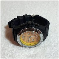 Black Techno marine watch for Men..