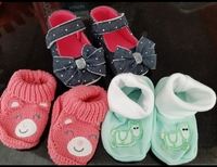 Used Cute baby girl booties in Dubai, UAE