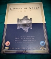 Used Series 1-4 of Downton Abbey DVDs in Dubai, UAE