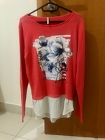 Used Long sleeve floral top in Dubai, UAE