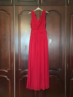 Used MANGO Drape Grecian Maxi Dress  in Dubai, UAE