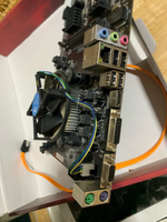 Used Mining motherboard with intel cpu  in Dubai, UAE